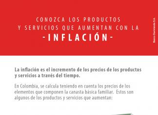 Conozca los productos y servicios que aumentan con la inflación