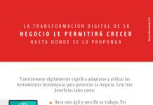 La transformación digital de su negocio le permitirá crecer hasta donde se lo proponga