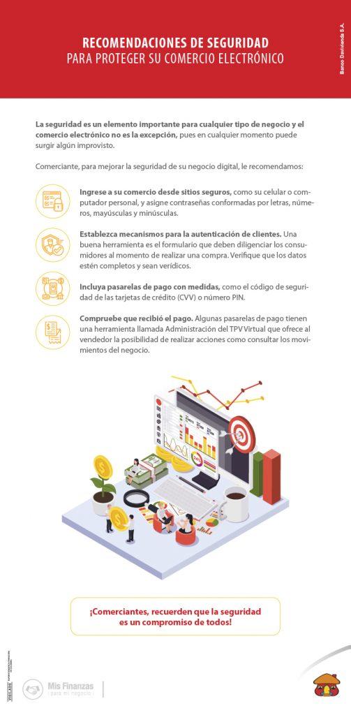 Recomendaciones de seguridad para proteger su comercio electrónico